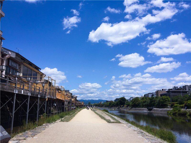 鴨川を散策