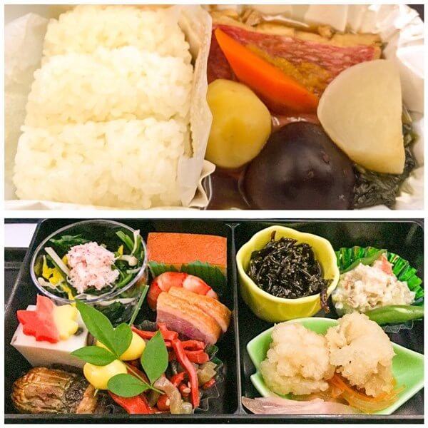 日本発機内食(和食)拡大