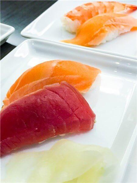 頂いた握り寿司