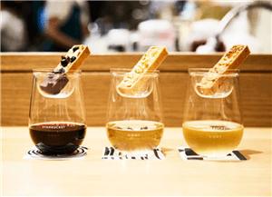 ワイン毎にタルトレットは異なる