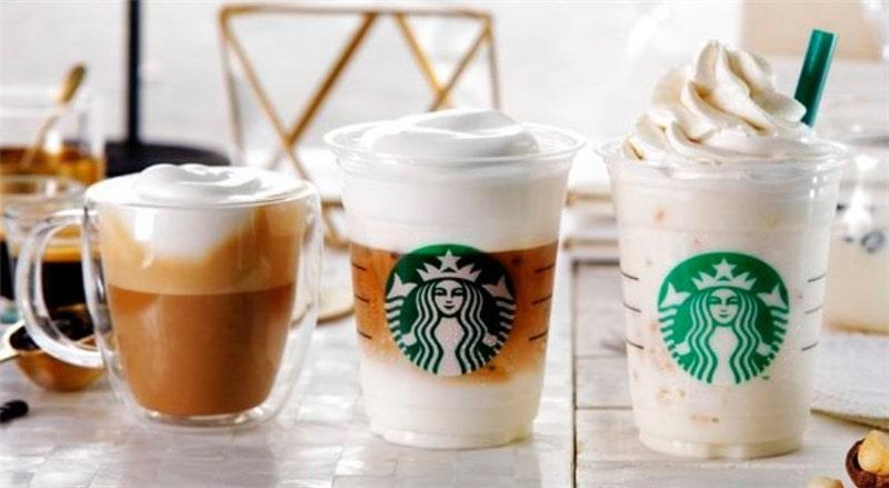「ムースフォームラテ」 「ホワイトブリューコーヒー&マカダミアフラペチーノ」が2018年3月16日から登場