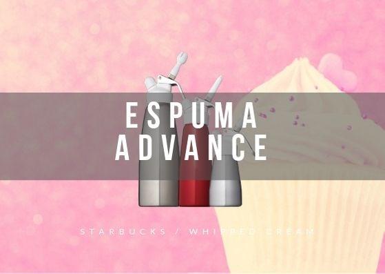 espuma-advance スタバのホイップは「エスプーマ」を使って作ります。作り方や購入方法などを紹介