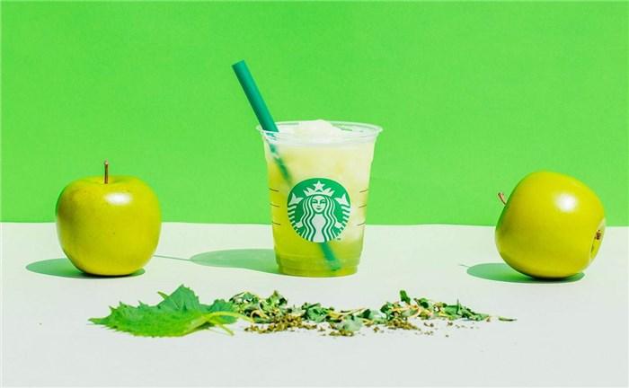 ティバーナ フローズン ティー煎茶×グリーンアップルフローズン