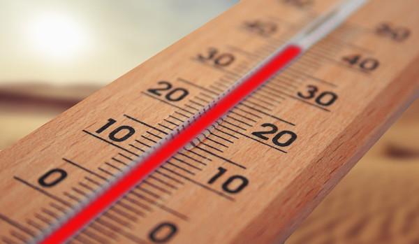 温度の変更