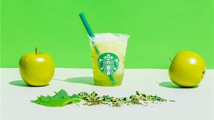 ティバーナフローズンティー 香る煎茶×グリーン アップル