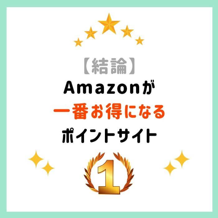 ポイント サイト amazon