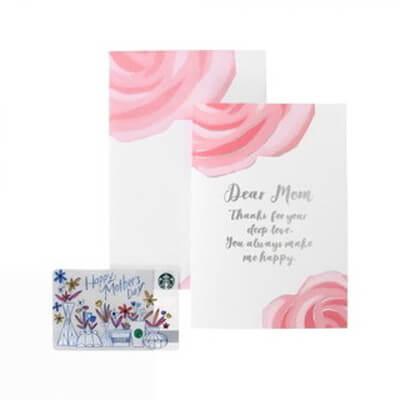 母の日ギフト グリーティングカード (Mother's day カード付)