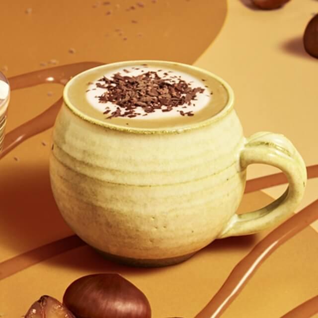 チョコレートマロンラテ