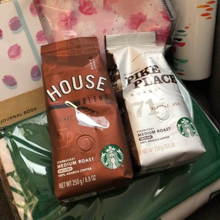 コーヒー豆(ハウスブレンドロースト)250g 1050円 コーヒー豆(パイクプレイスロースト)250g 1140円