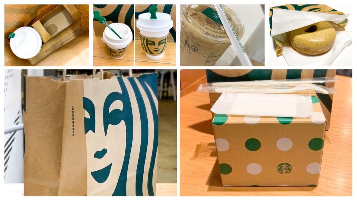 【スタバを持ち帰りたい】テイクアウトできるメニューやケーキ・紙袋を紹介